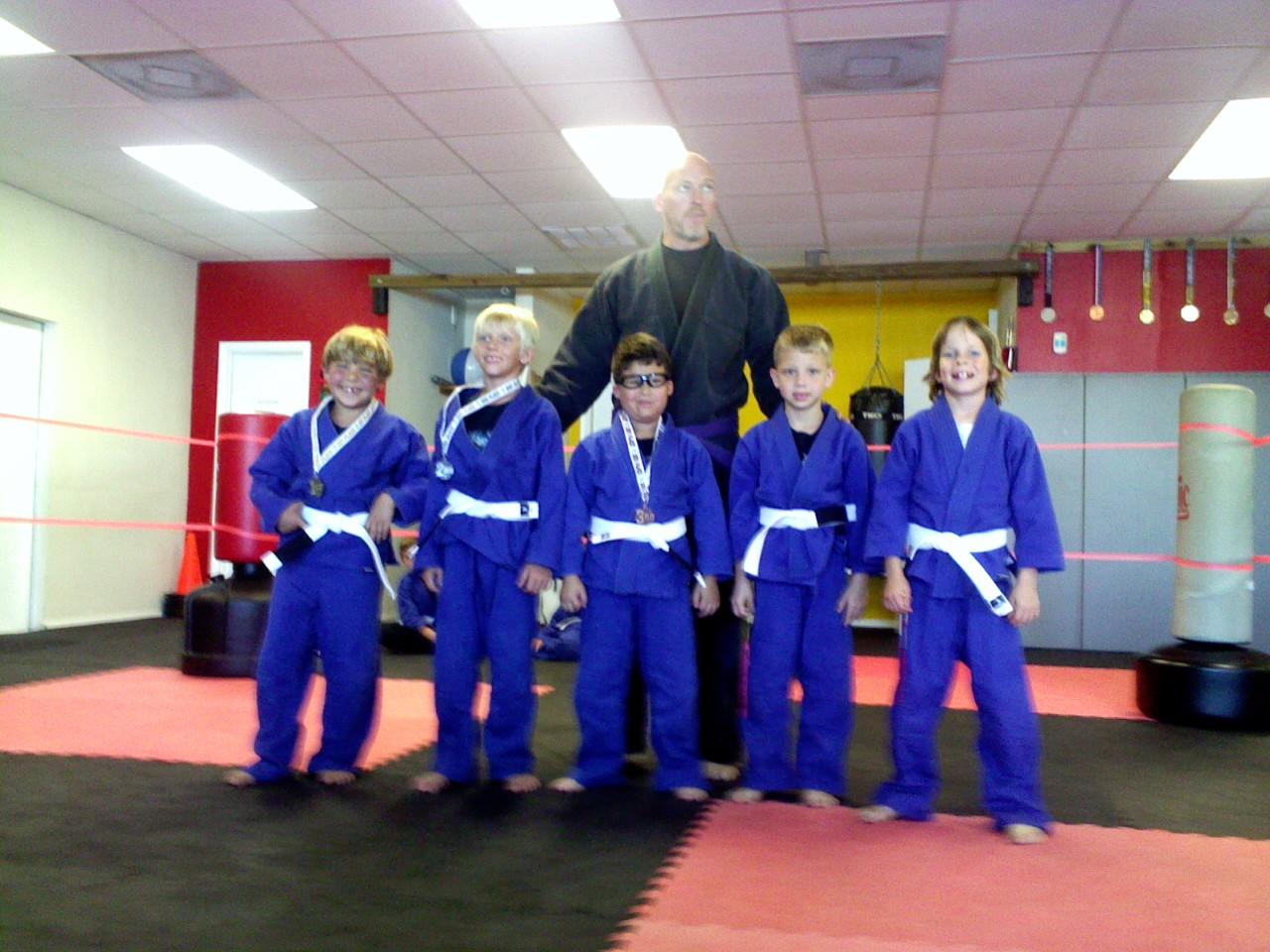 Our Lightweight Jiu Jitsu Competitors